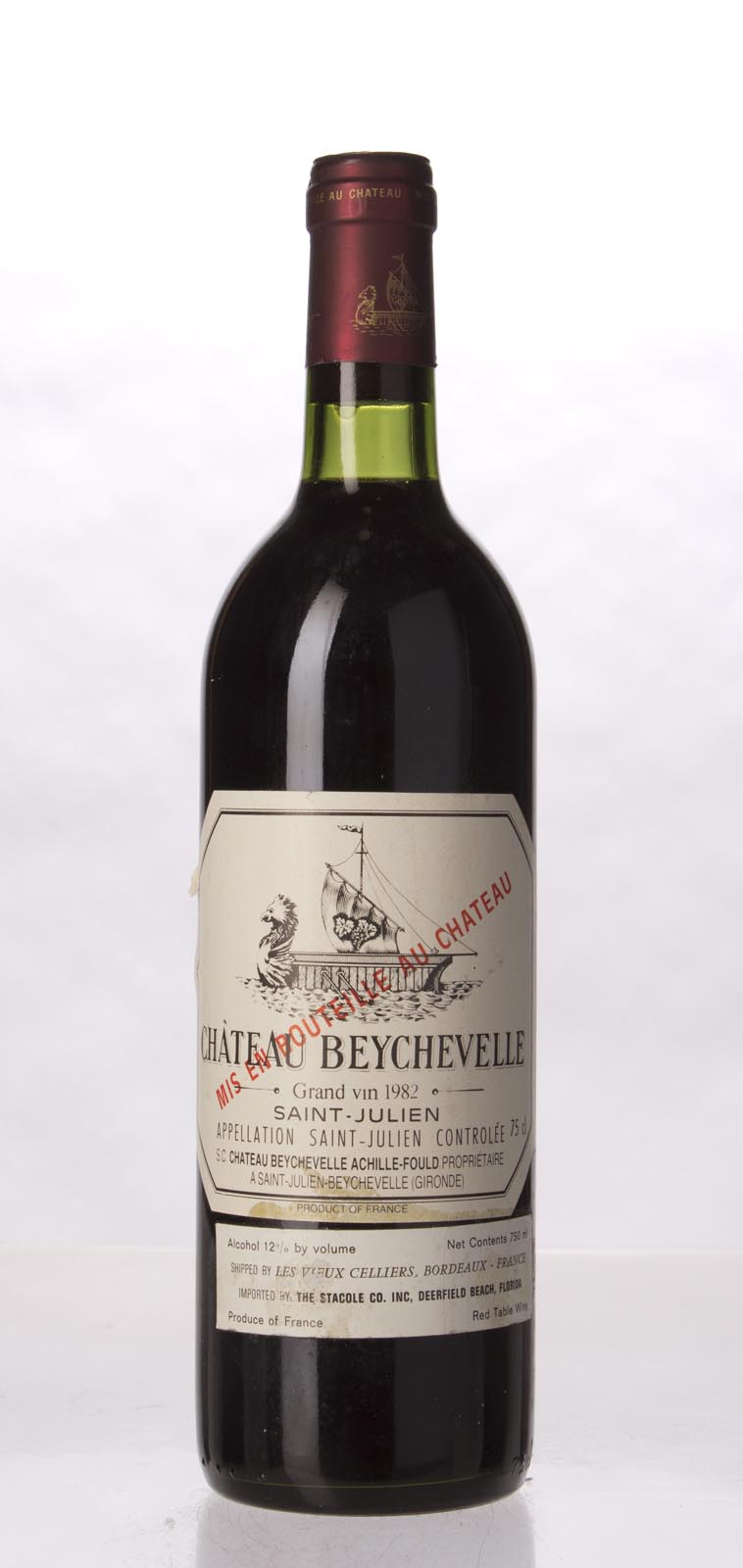 Beychevelle 1982, 750mL (WA94) from The BPW - Merchants of rare and fine wines.