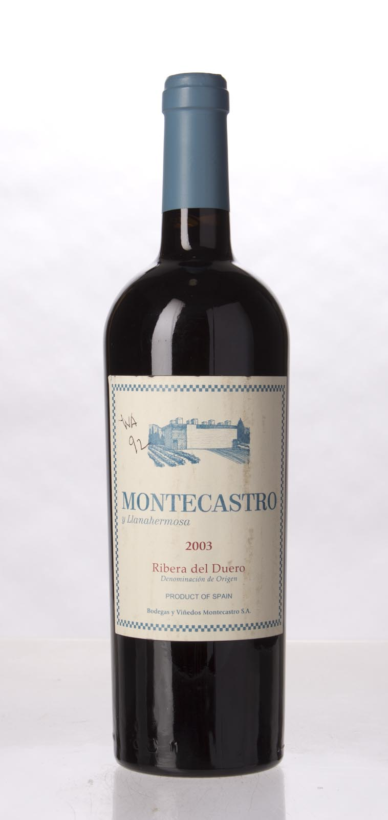 Bodegas Y Vinedos Montecastro Montecastro Y Llanahermosa 2003, 750mL () from The BPW - Merchants of rare and fine wines.