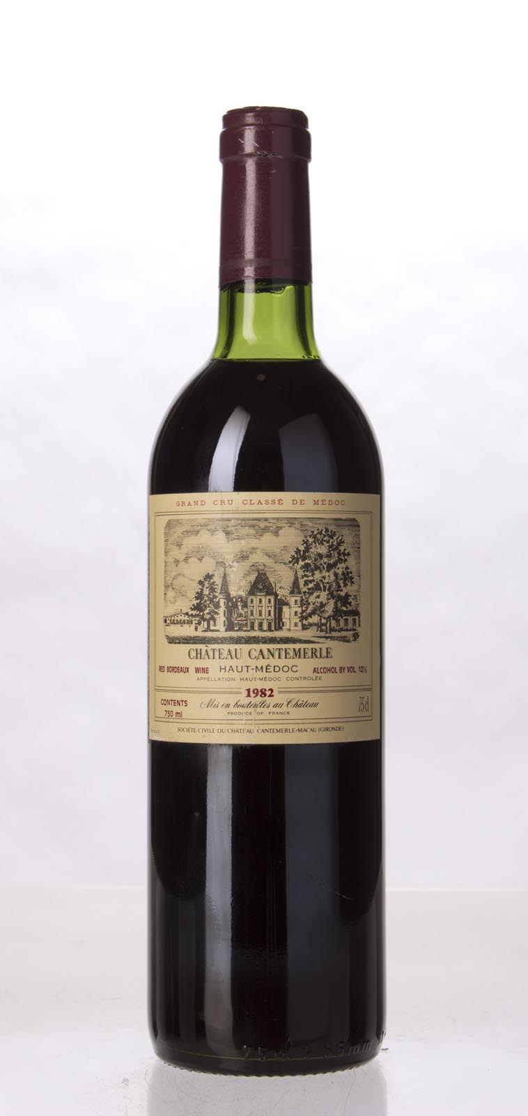Cantemerle 1982, 750mL (WS92) from The BPW - Merchants of rare and fine wines.