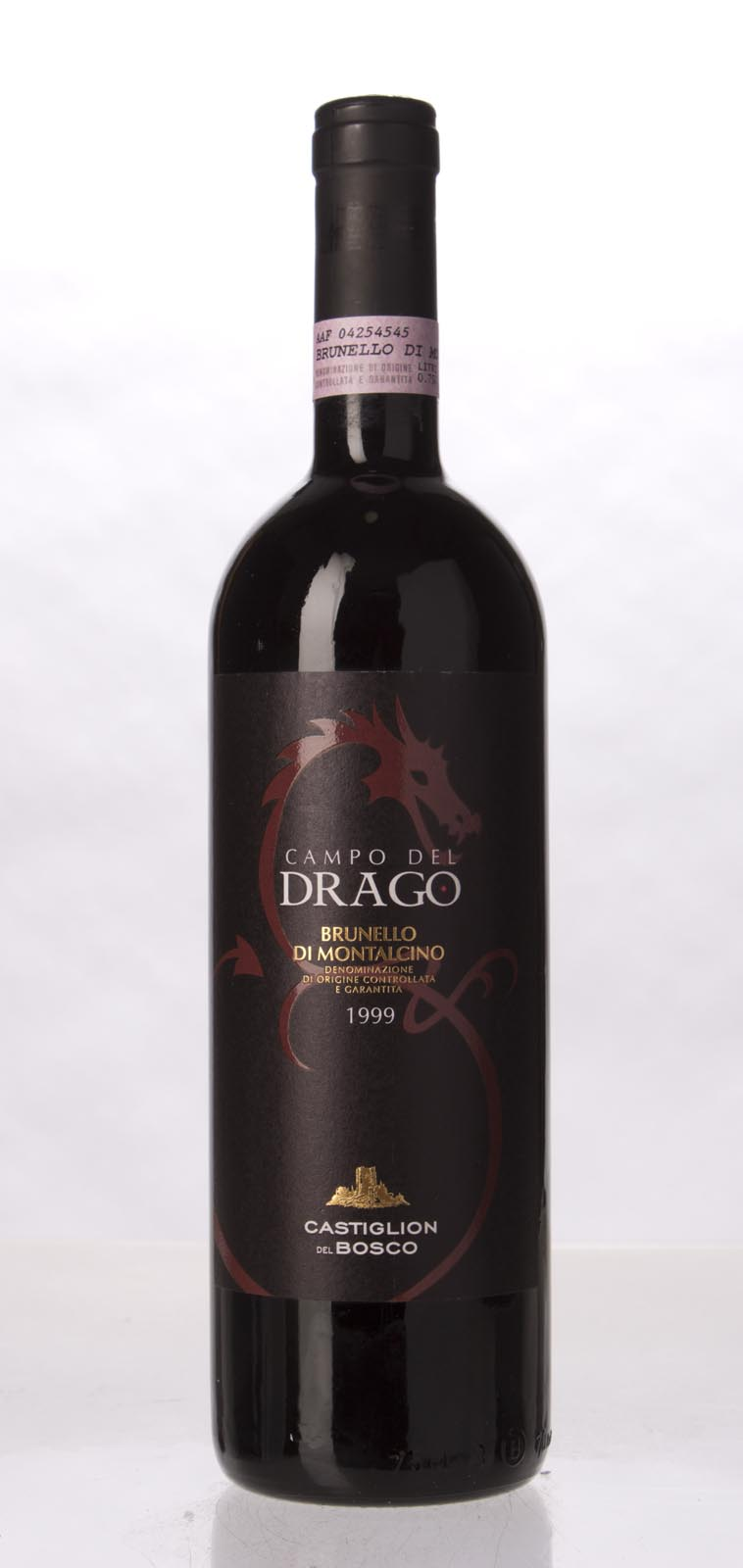 Castiglion del Bosco Brunello di Montalcino Campo del Drago 1999, 750mL (ST91, WS92) from The BPW - Merchants of rare and fine wines.