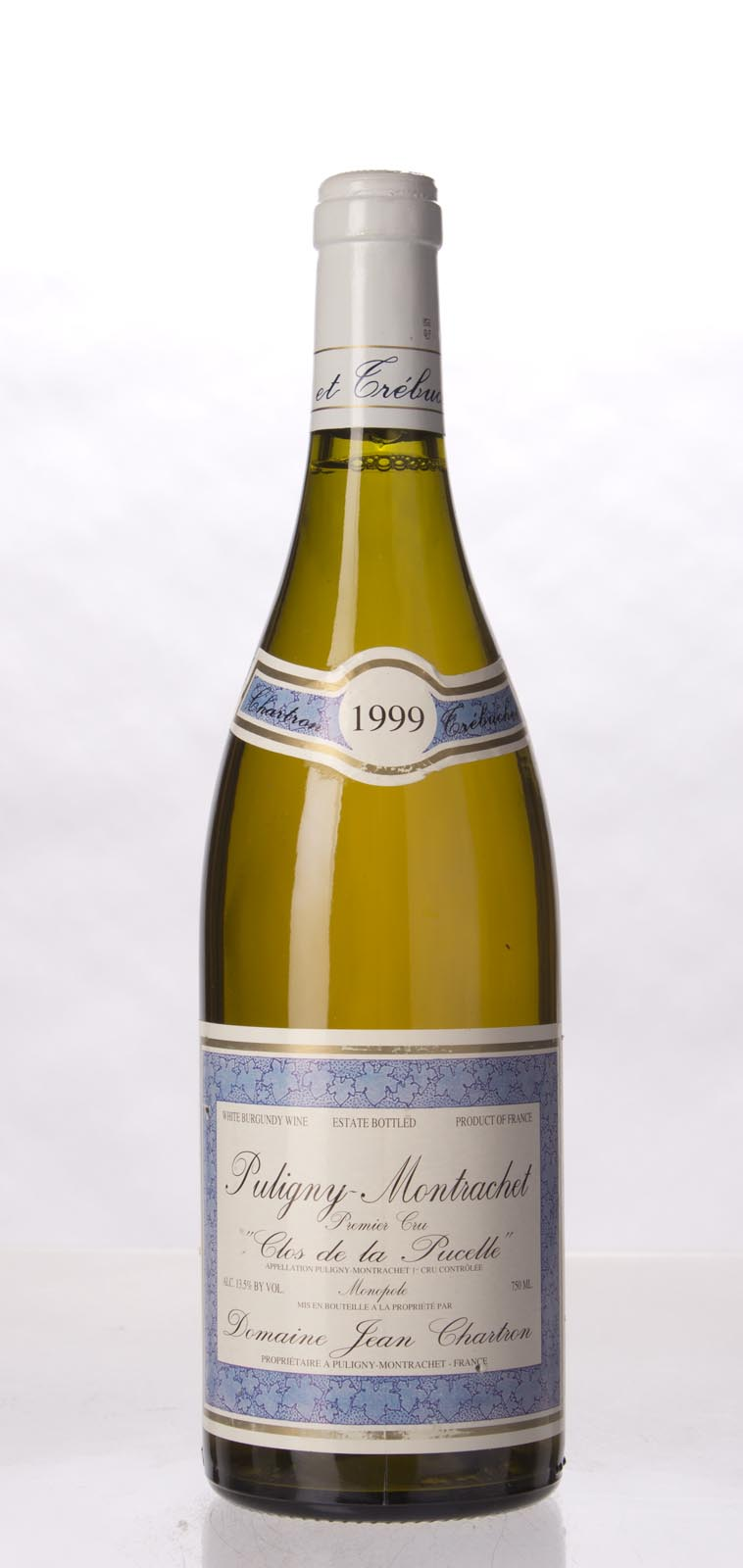 Chartron et Trebuchet Puligny Montrachet Clos de la Pucelle 1999, 750mL (WA89) from The BPW - Merchants of rare and fine wines.