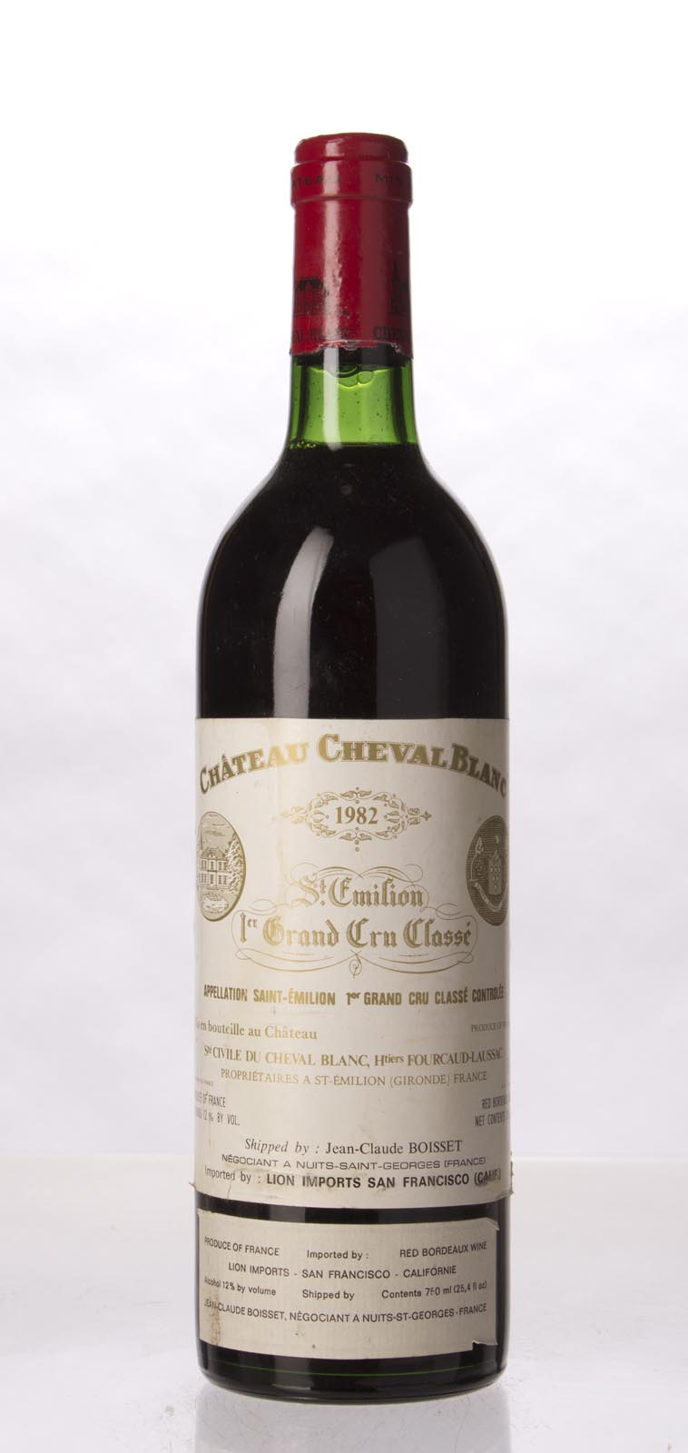 Cheval Blanc 1982, 750mL (ST96, WS97) from The BPW - Merchants of rare and fine wines.