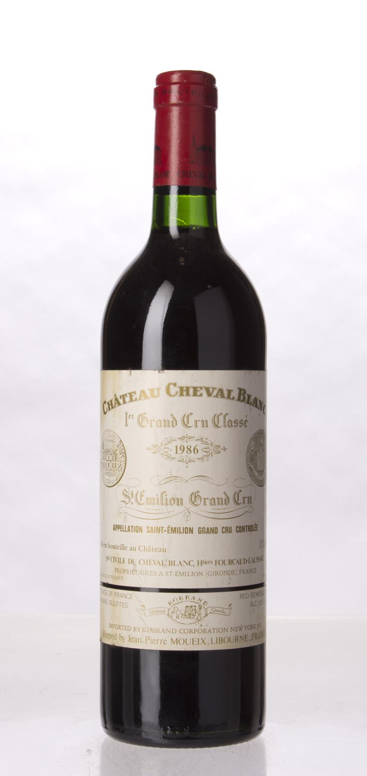 Cheval Blanc 1986, 750mL (WS98) from The BPW - Merchants of rare and fine wines.