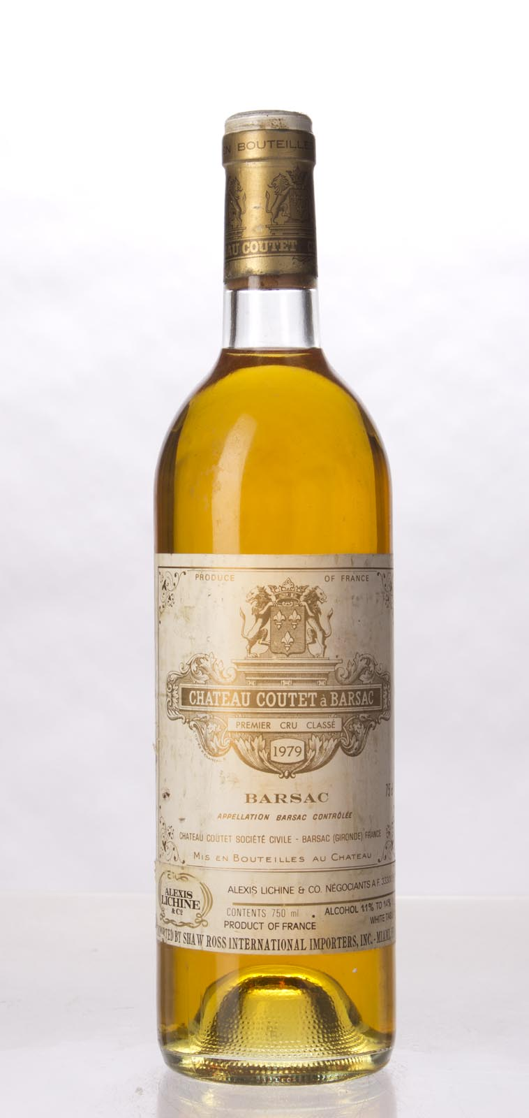 Coutet Sauternes 1979, 750mL () from The BPW - Merchants of rare and fine wines.