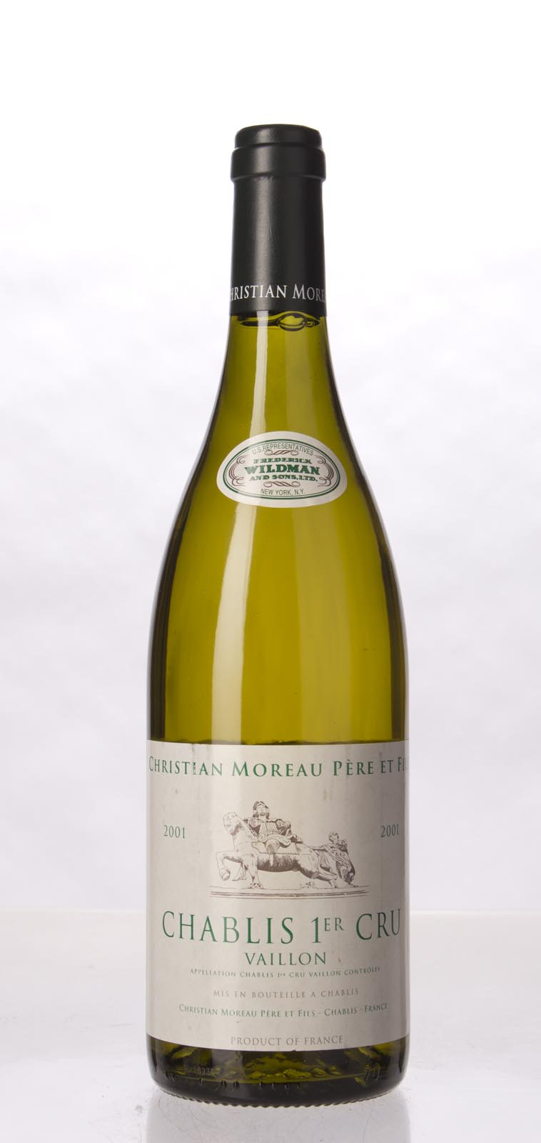 Domaine Christian Moreau Pere et Fils Chablis Vaillons 2001, 750mL () from The BPW - Merchants of rare and fine wines.