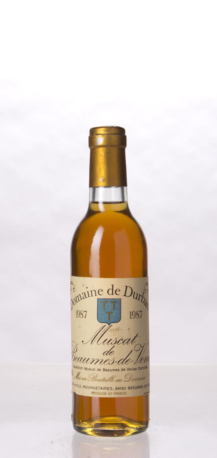 Domaine Durban Muscat de Beaumes de Venise 1987, 375mL () from The BPW - Merchants of rare and fine wines.