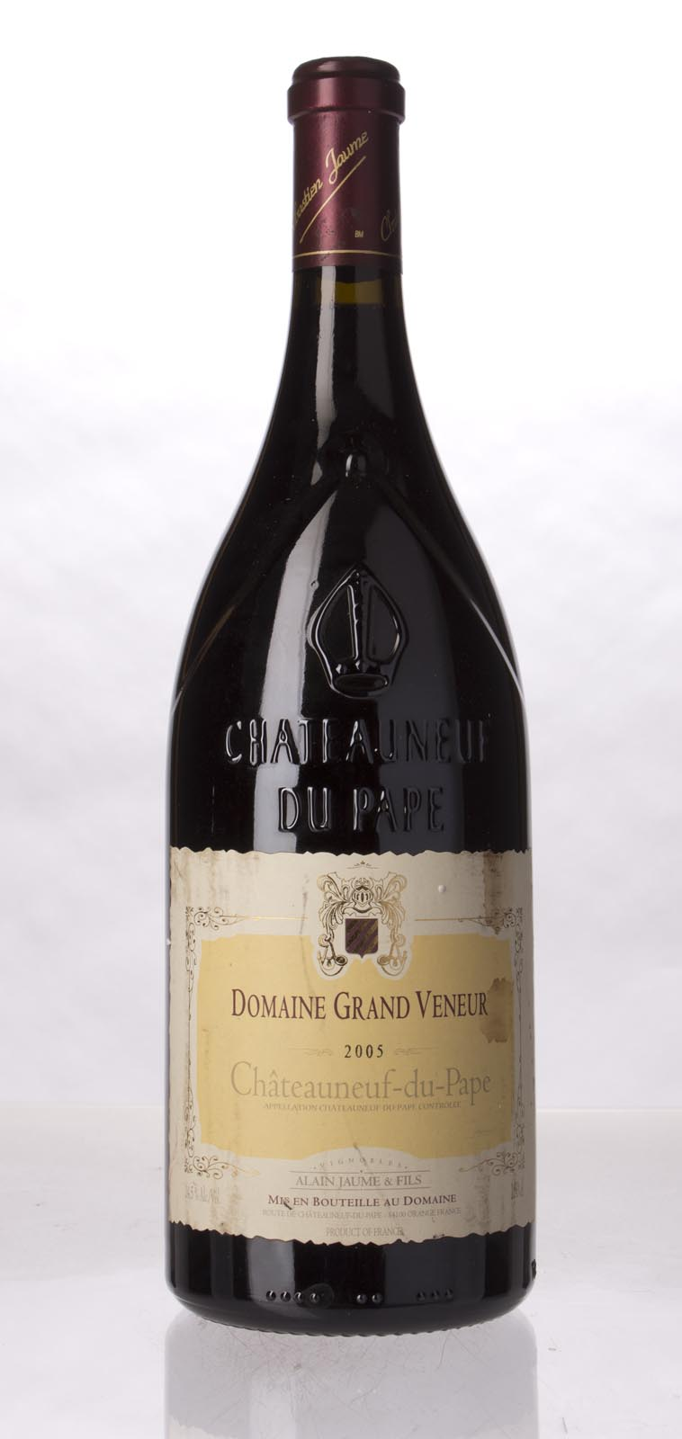 Domaine Grand Veneur Chateauneuf du Pape 2005, 1.5L (WA93, WS92) from The BPW - Merchants of rare and fine wines.