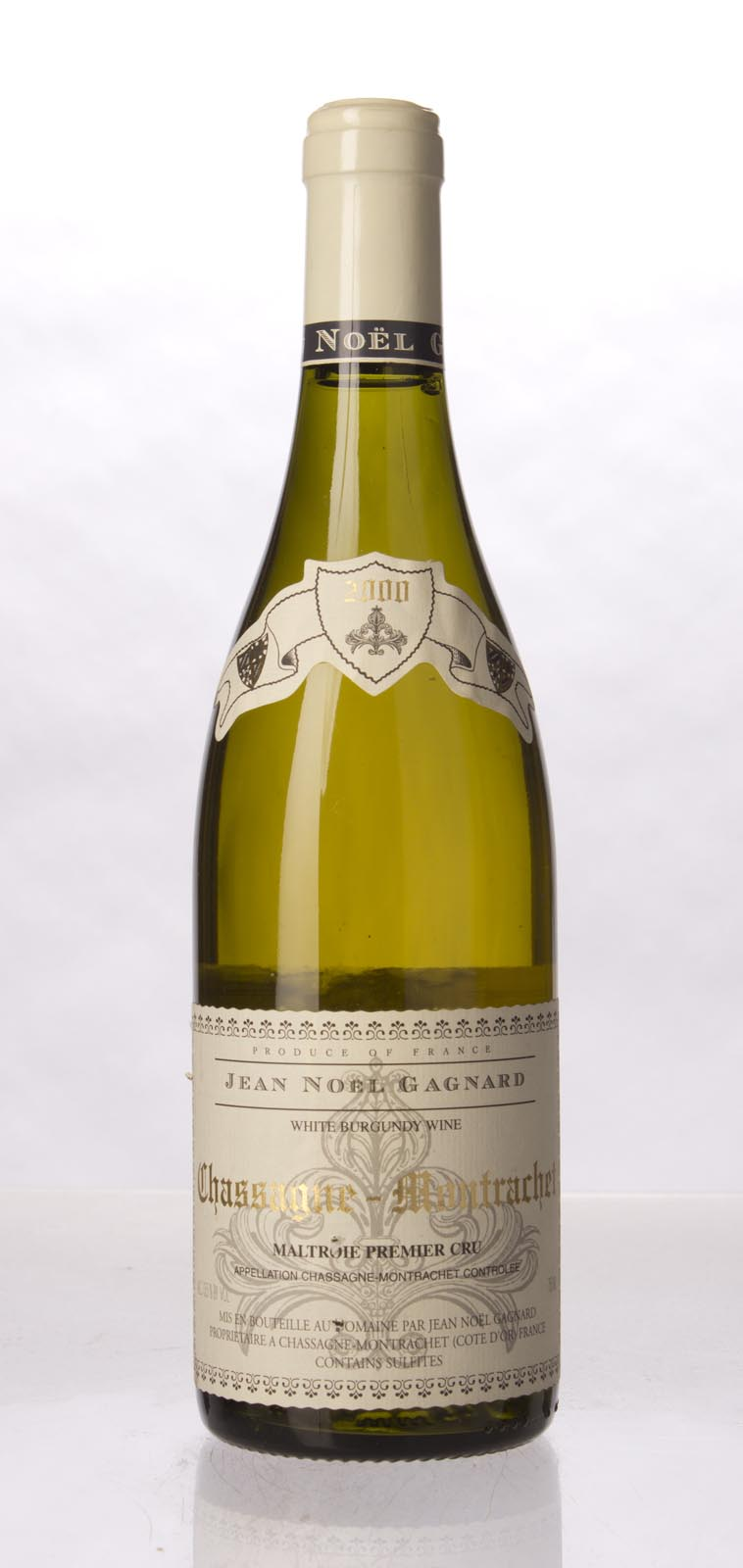 Domaine Jean Noel Gagnard Chassagne Montrachet la Maltroie 2000, 750mL (WA88-89) from The BPW - Merchants of rare and fine wines.