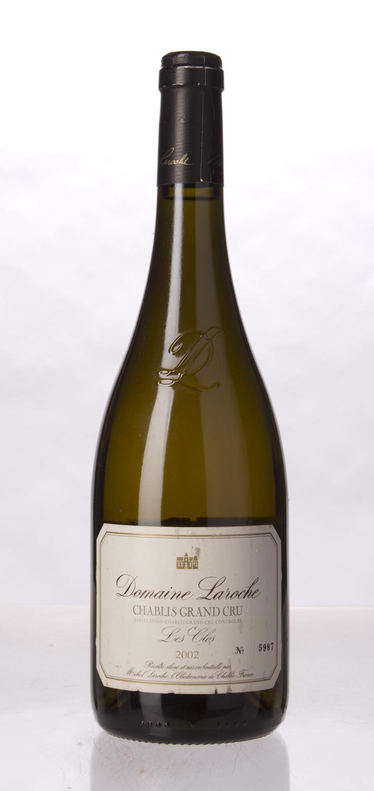 Domaine Laroche Chablis les Clos 2002, 750mL (WS92) from The BPW - Merchants of rare and fine wines.