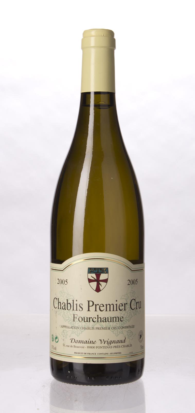 Domaine Vrignaud Chablis Fourchaume Vieilles Vignes 2005, 750mL () from The BPW - Merchants of rare and fine wines.
