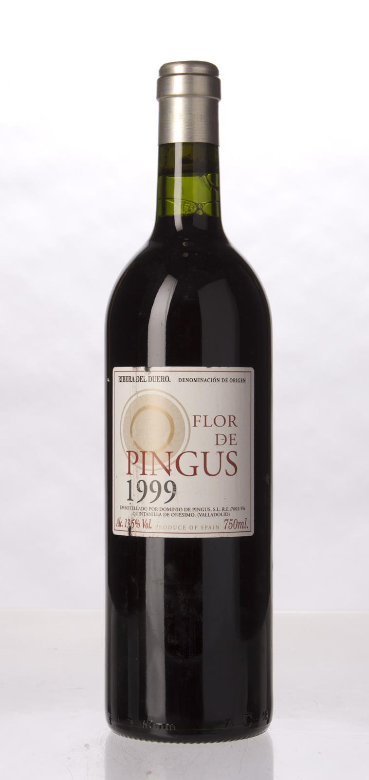 Dominio de Pingus Flor de Pingus 1999, 750mL (WA90, ST91) from The BPW - Merchants of rare and fine wines.