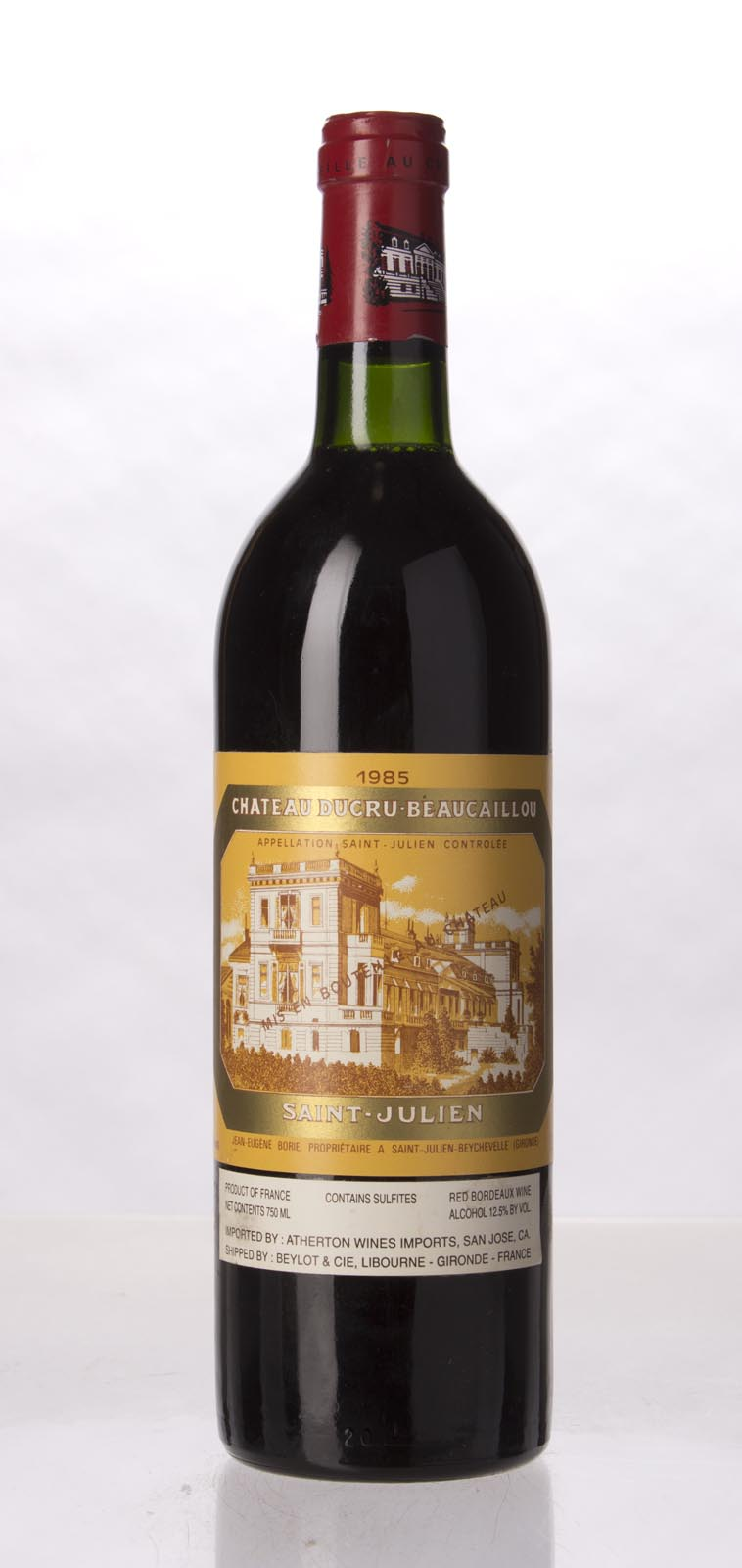 Ducru Beaucaillou 1985, 750mL (WS95) from The BPW - Merchants of rare and fine wines.