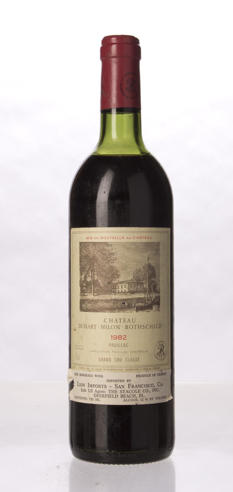 Duhart Milon Rothschild 1982, 750mL (WA94) from The BPW - Merchants of rare and fine wines.
