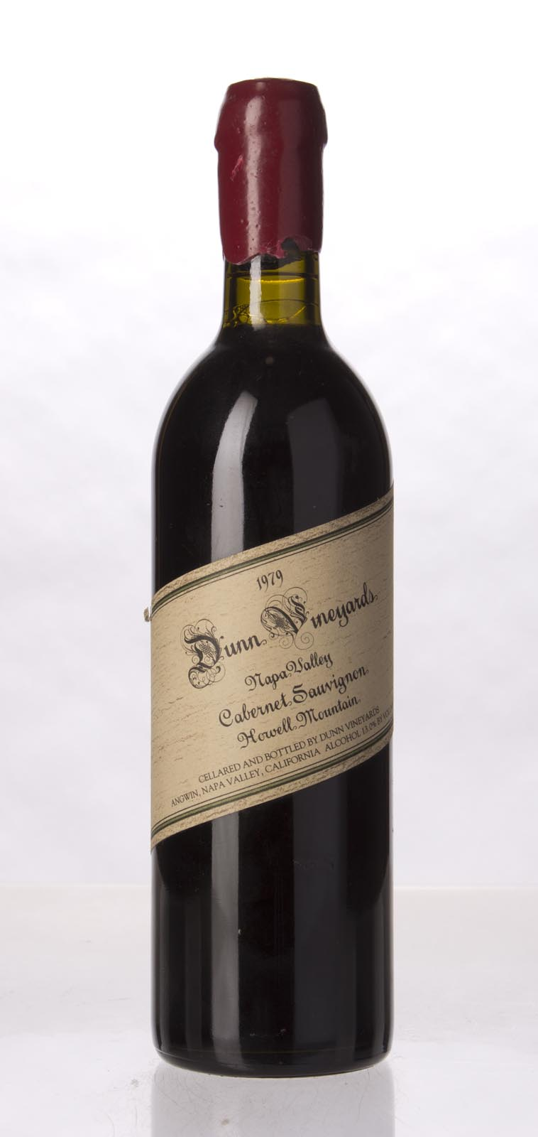 Dunn Cabernet Sauvignon Howell Mountain 1979, 750mL (WS94) from The BPW - Merchants of rare and fine wines.