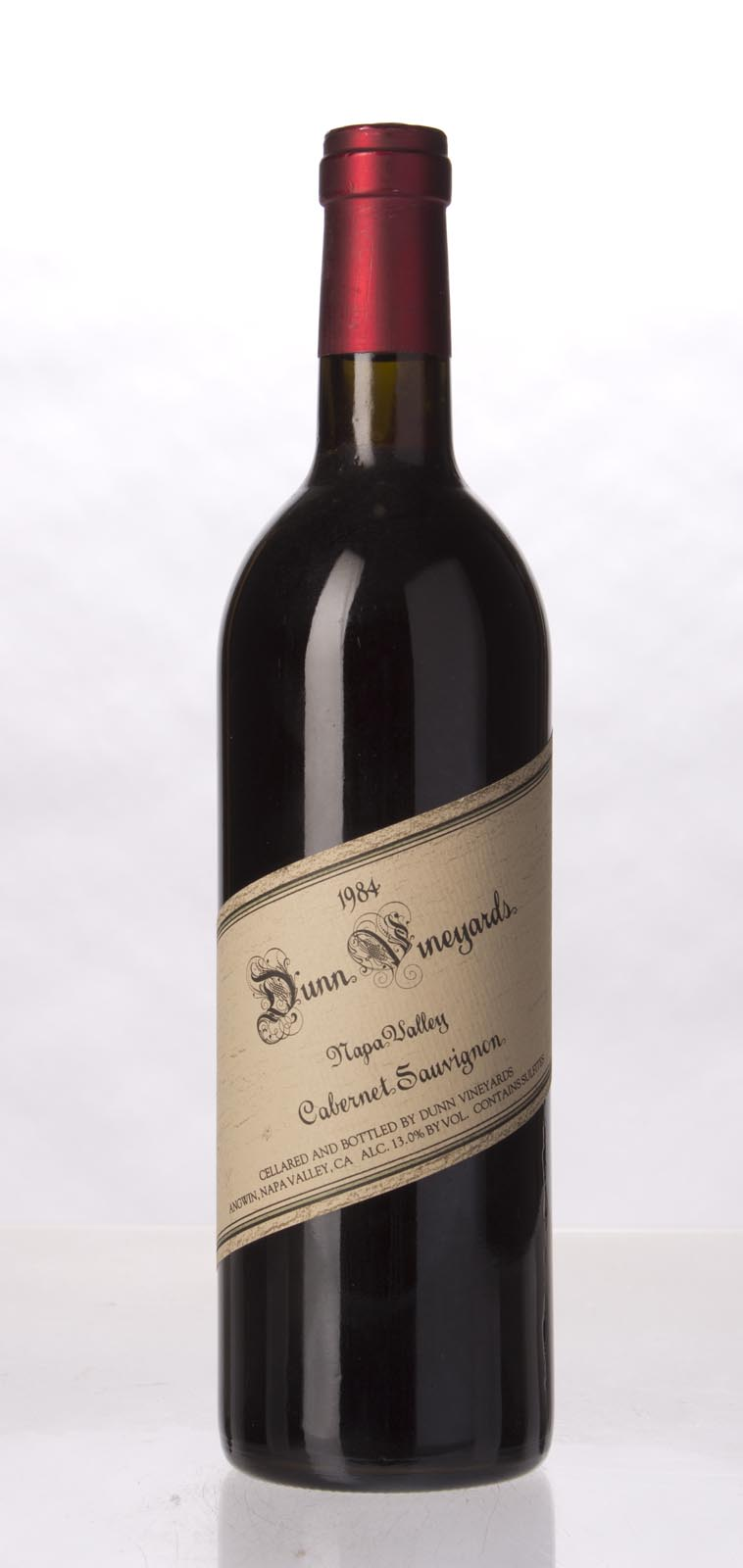 Dunn Cabernet Sauvignon Napa Valley 1984, 750mL (WA90) from The BPW - Merchants of rare and fine wines.
