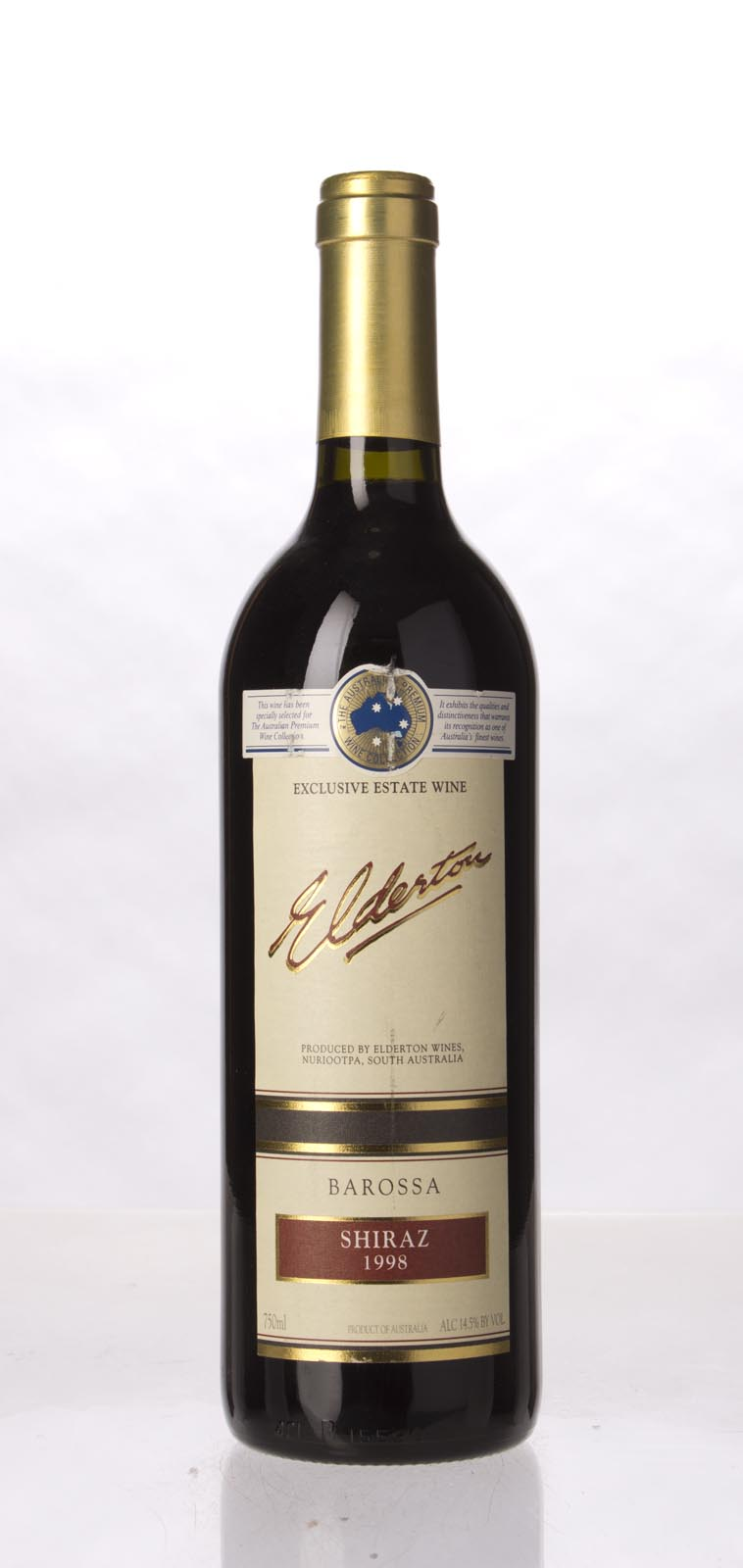 Elderton Shiraz Barossa Valley 1998, 750mL (WA93) from The BPW - Merchants of rare and fine wines.