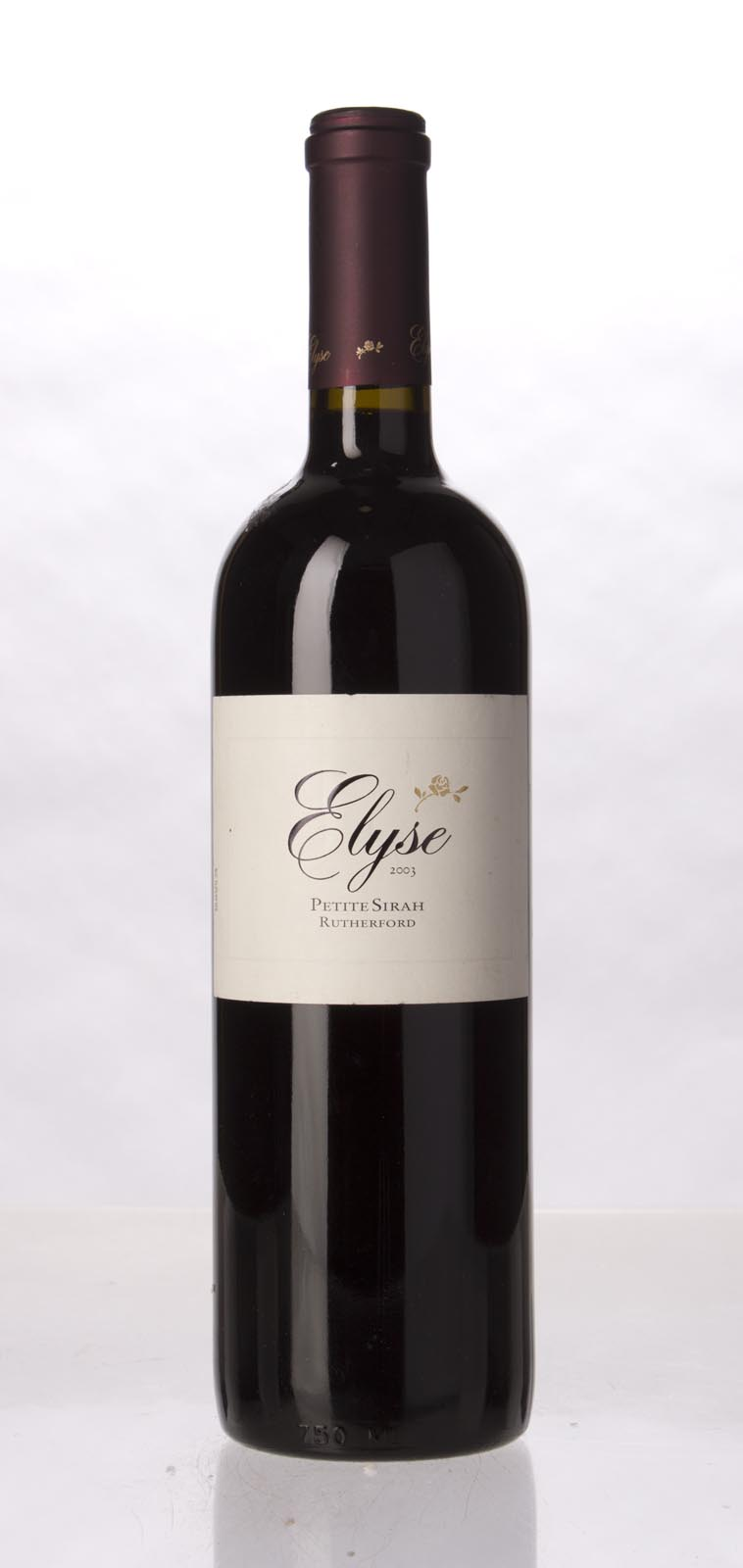 Elyse Winery Petite Sirah Rutherford 2003, 750mL () from The BPW - Merchants of rare and fine wines.