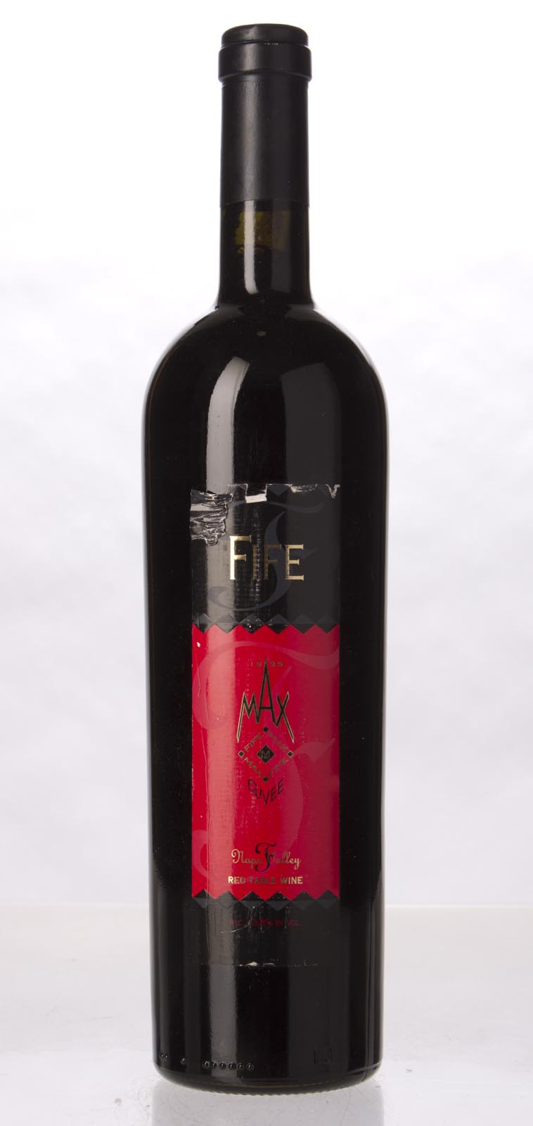 Fife Vineyards Max Cuvee Syrah Blend 1995, 750mL (WA90) from The BPW - Merchants of rare and fine wines.