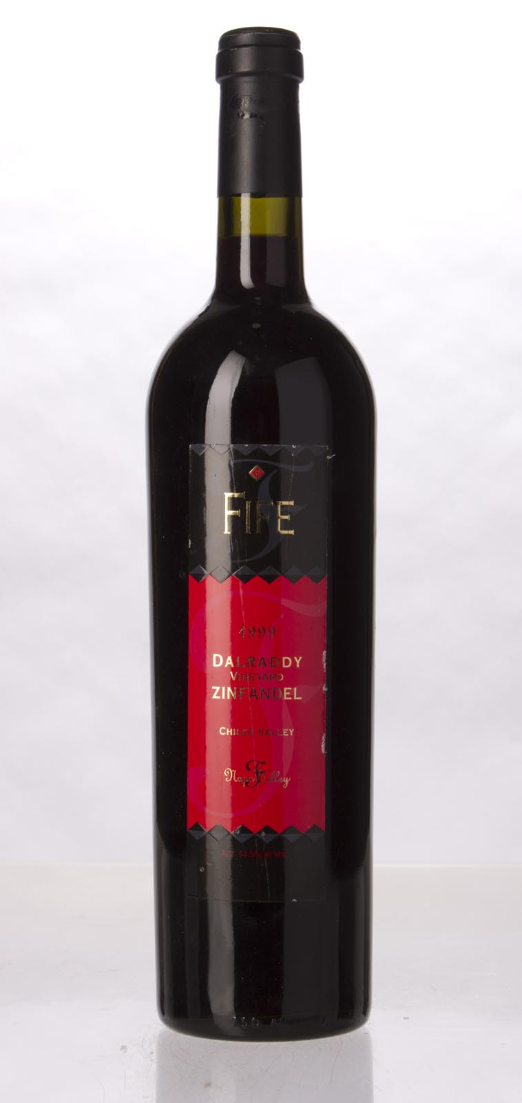 Fife Vineyards Zinfandel Dalraddy Vineyard 1999, 750mL (WA90) from The BPW - Merchants of rare and fine wines.