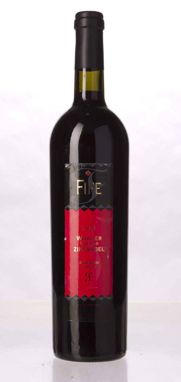 Fife Vineyards Zinfandel Whaler Vineyard 2000, 750mL () from The BPW - Merchants of rare and fine wines.