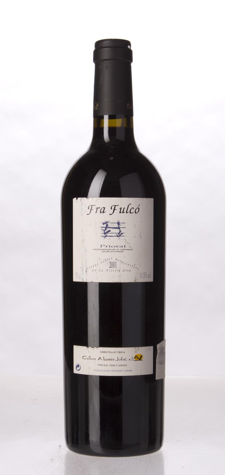 Fra Fulco Carignan Vinyes Velles 2001, 750mL () from The BPW - Merchants of rare and fine wines.