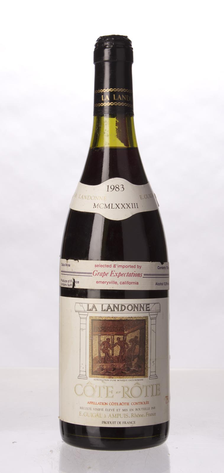 Guigal Cote Rotie la Landonne 1983, 750mL (WA98) from The BPW - Merchants of rare and fine wines.