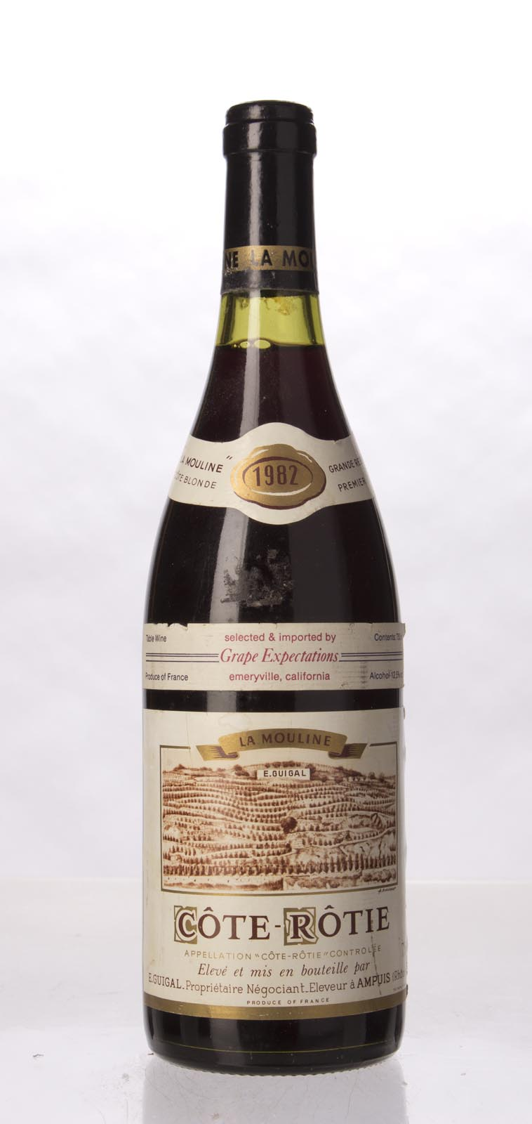 Guigal Cote Rotie la Mouline 1982, 750mL (WA99) from The BPW - Merchants of rare and fine wines.