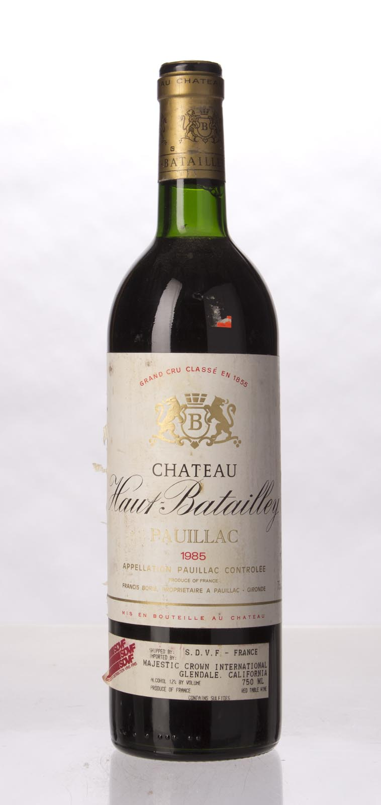 Haut Batailley 1985, 750mL () from The BPW - Merchants of rare and fine wines.