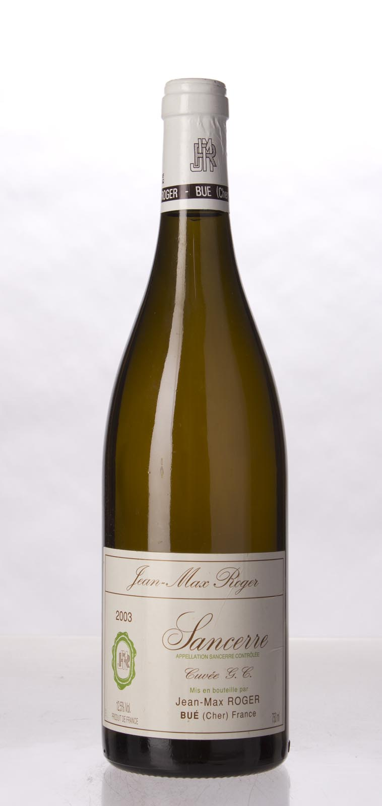 Jean Max Roger Sancerre Cuvee G. C. 2003, 750mL () from The BPW - Merchants of rare and fine wines.