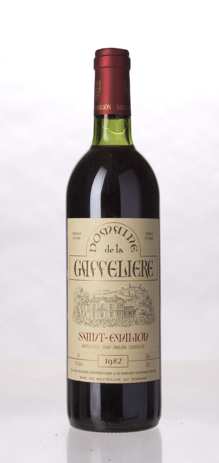 La Gaffeliere 1982, 750mL (WS93) from The BPW - Merchants of rare and fine wines.