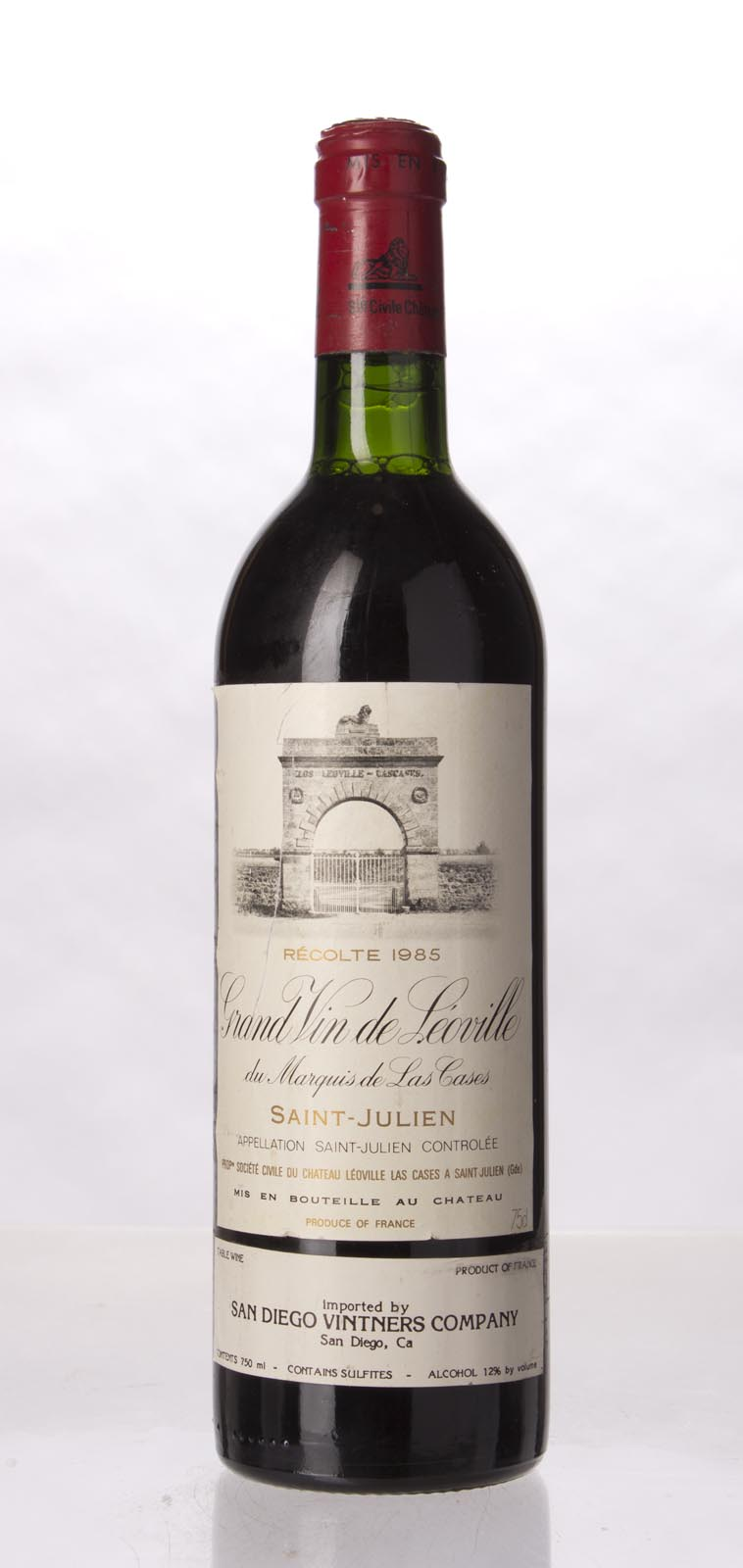 Leoville Las Cases 1985, 750mL (WS98) from The BPW - Merchants of rare and fine wines.