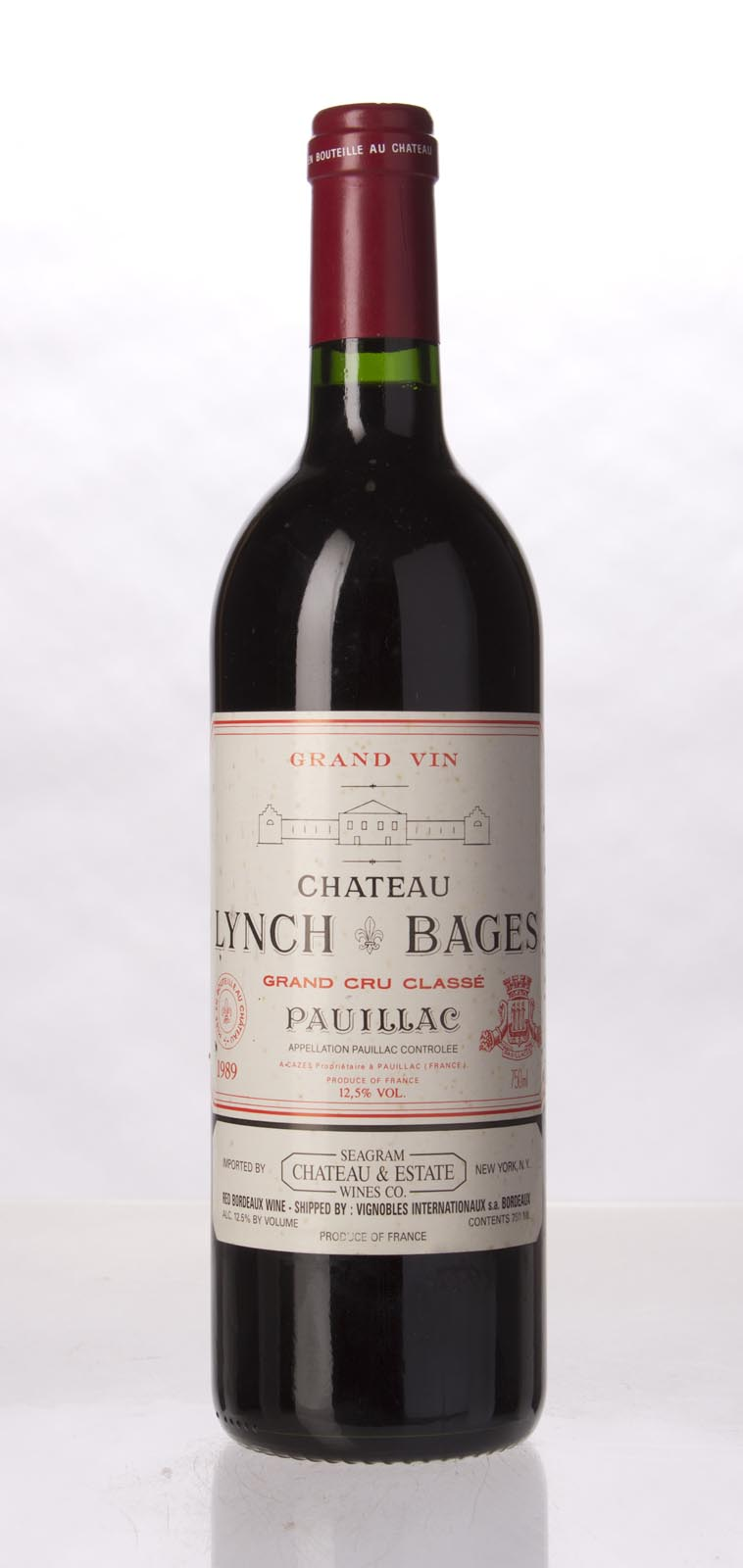 Lynch Bages 1989, 750mL (WA99+, WS98) from The BPW - Merchants of rare and fine wines.