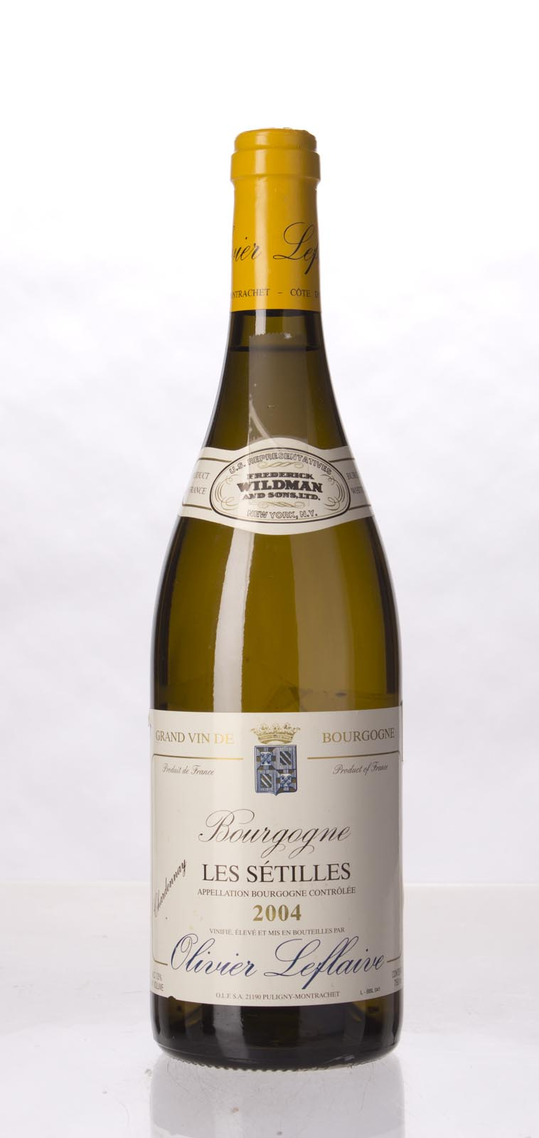 Maison Olivier Leflaive Freres Bourgogne Blanc les Setilles 2004, 750mL () from The BPW - Merchants of rare and fine wines.