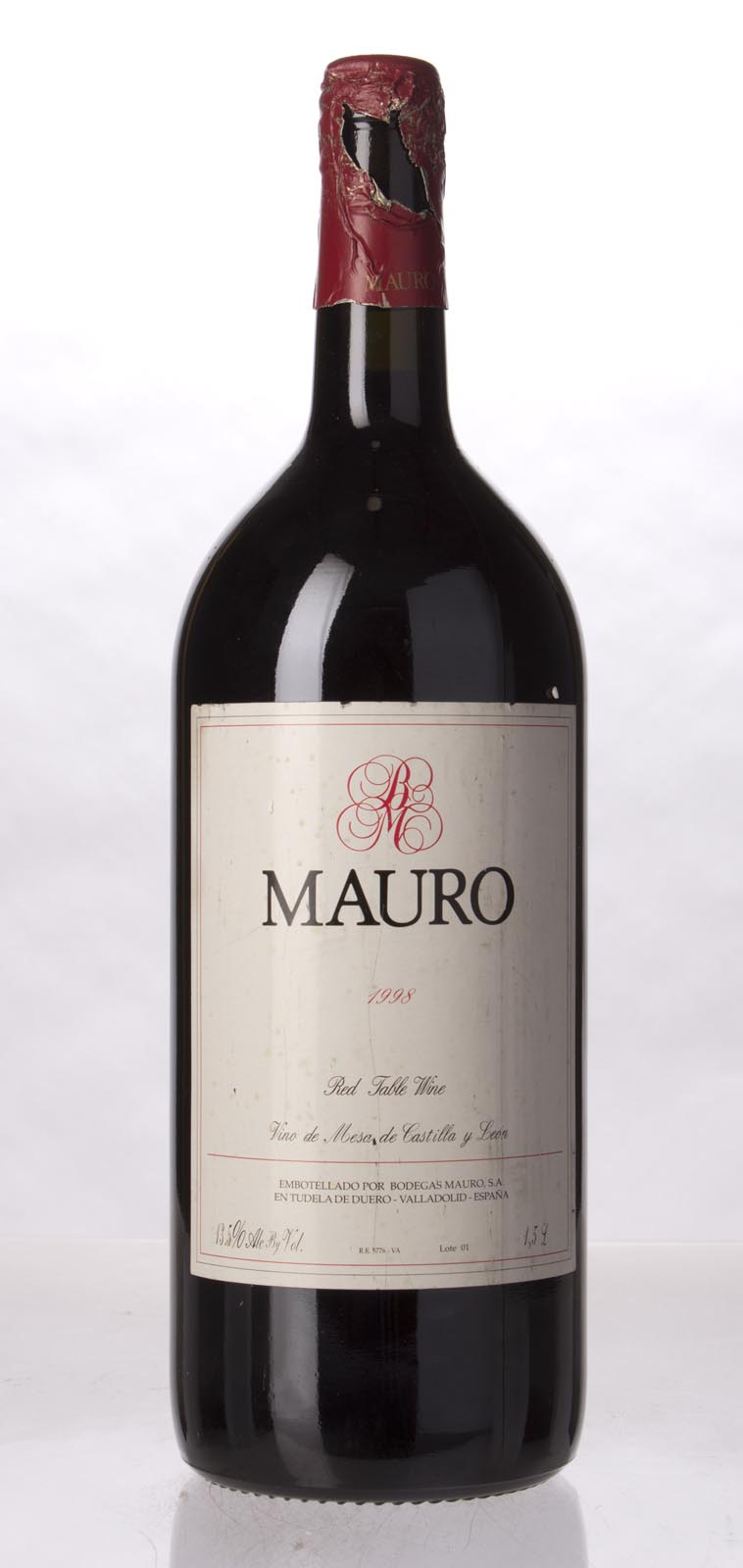 Mauro Crianza 1998, 1.5L () from The BPW - Merchants of rare and fine wines.