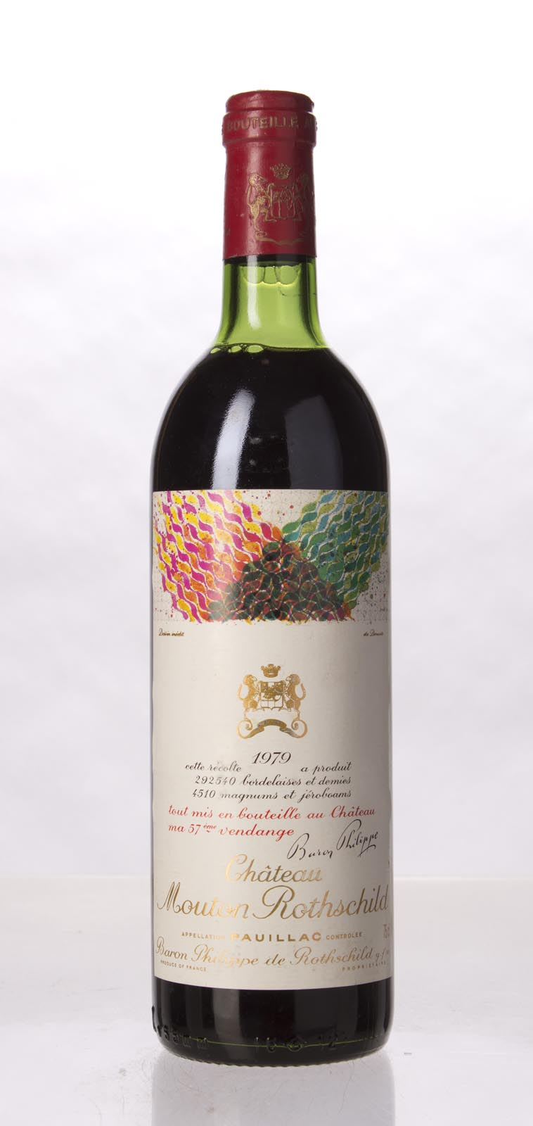 Mouton Rothschild 1979, 750mL (WS96) from The BPW - Merchants of rare and fine wines.