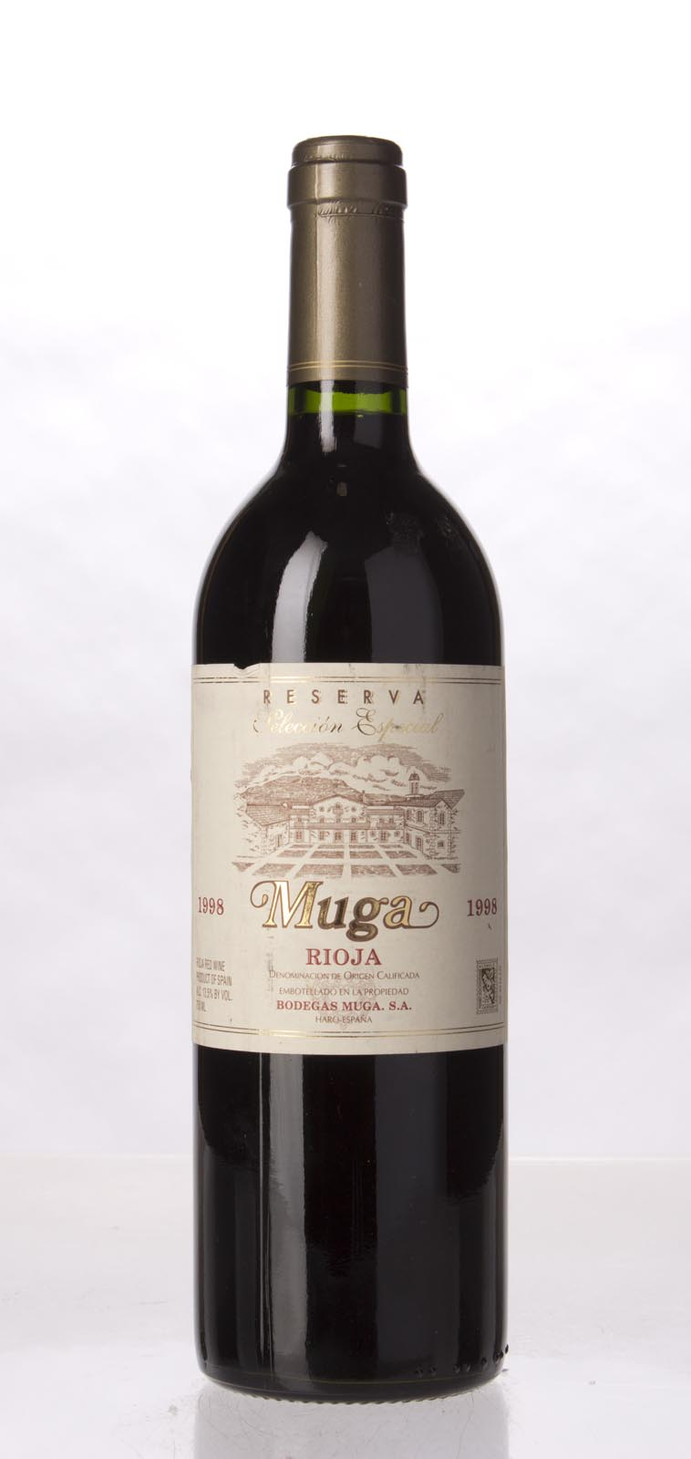 Muga Rioja Reserva Seleccion Especial 1998, 750mL (ST91) from The BPW - Merchants of rare and fine wines.