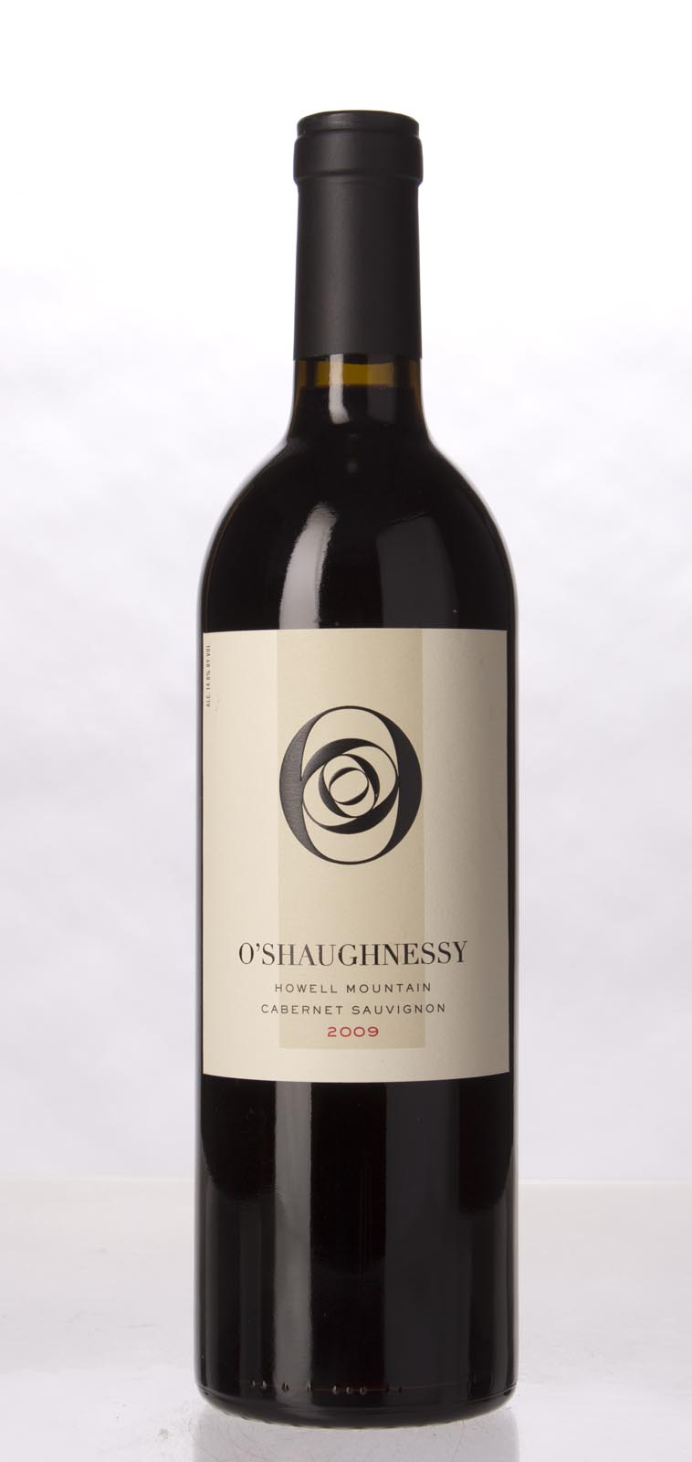 O`Shaughnessy Cabernet Sauvignon Howell Mountain 2009, 750mL (WA94+, ST92+) from The BPW - Merchants of rare and fine wines.