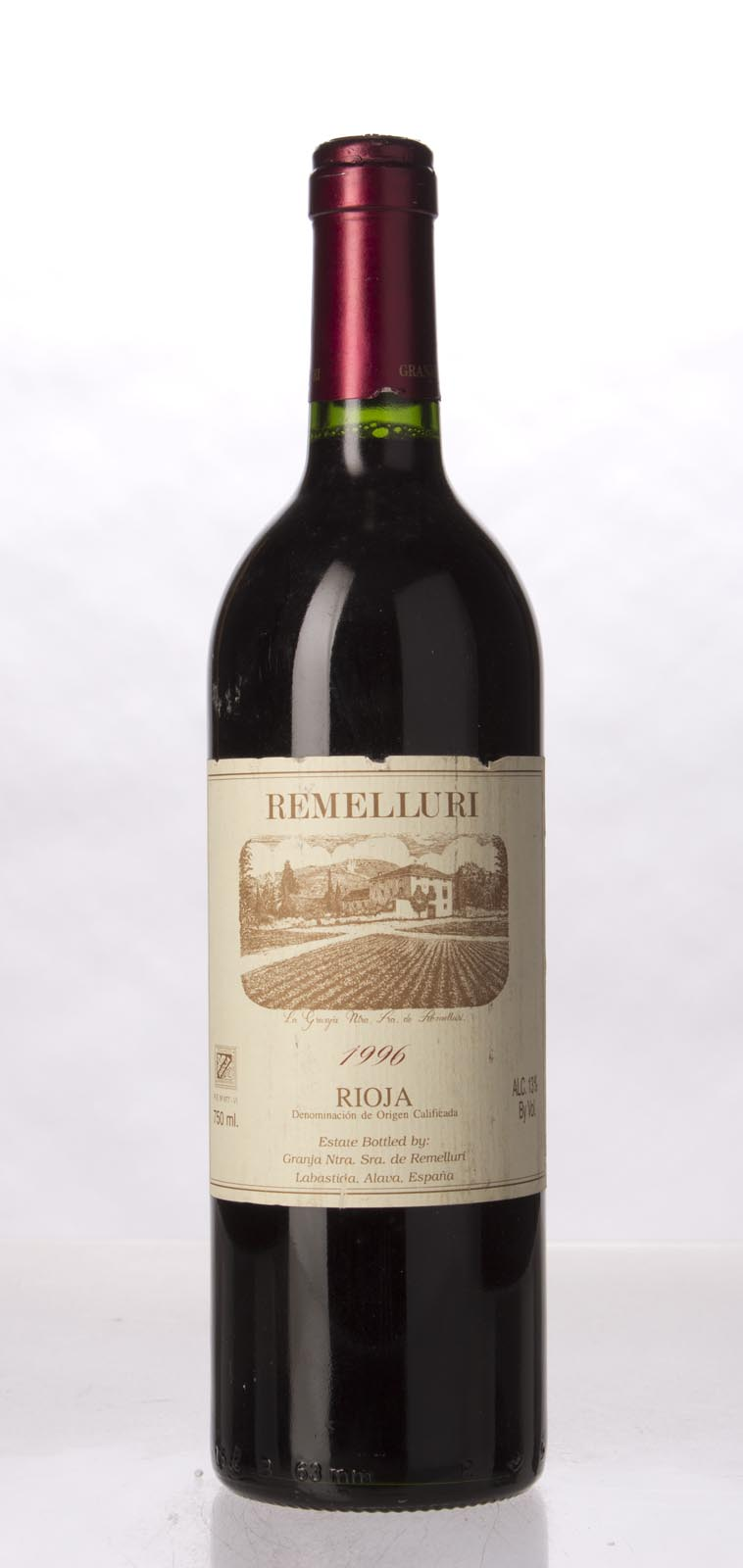 Remelluri Rioja 1996, 750mL (WA89) from The BPW - Merchants of rare and fine wines.