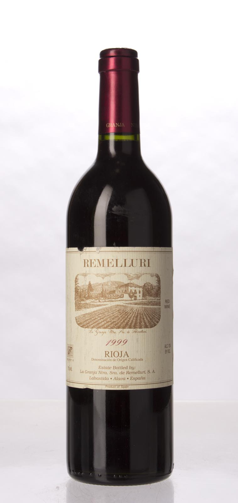 Remelluri Rioja 1999, 750mL (WA90) from The BPW - Merchants of rare and fine wines.