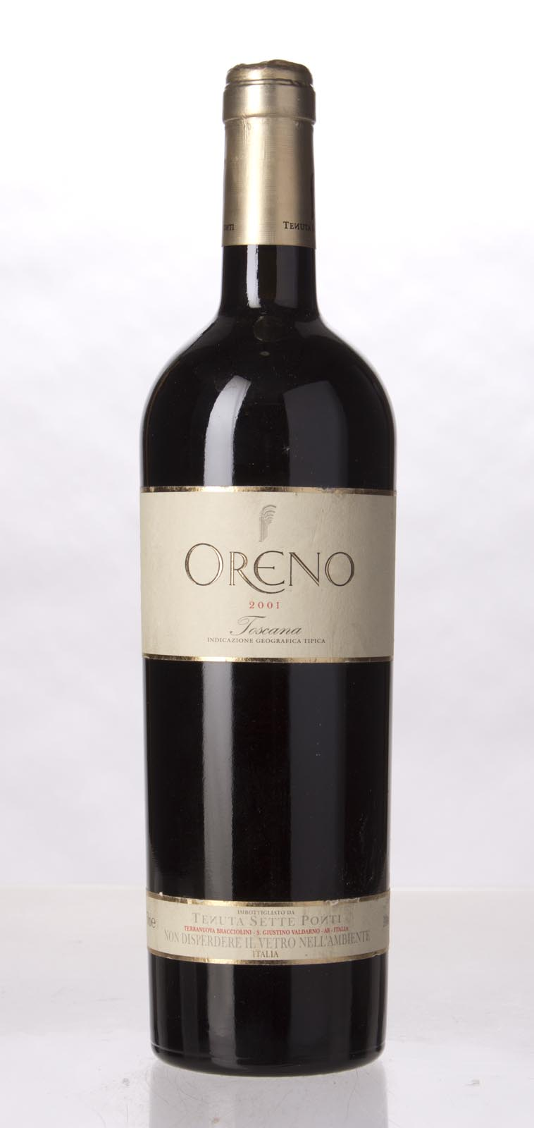 Sette Ponti Oreno 2001, 750mL (WA95, WS95) from The BPW - Merchants of rare and fine wines.