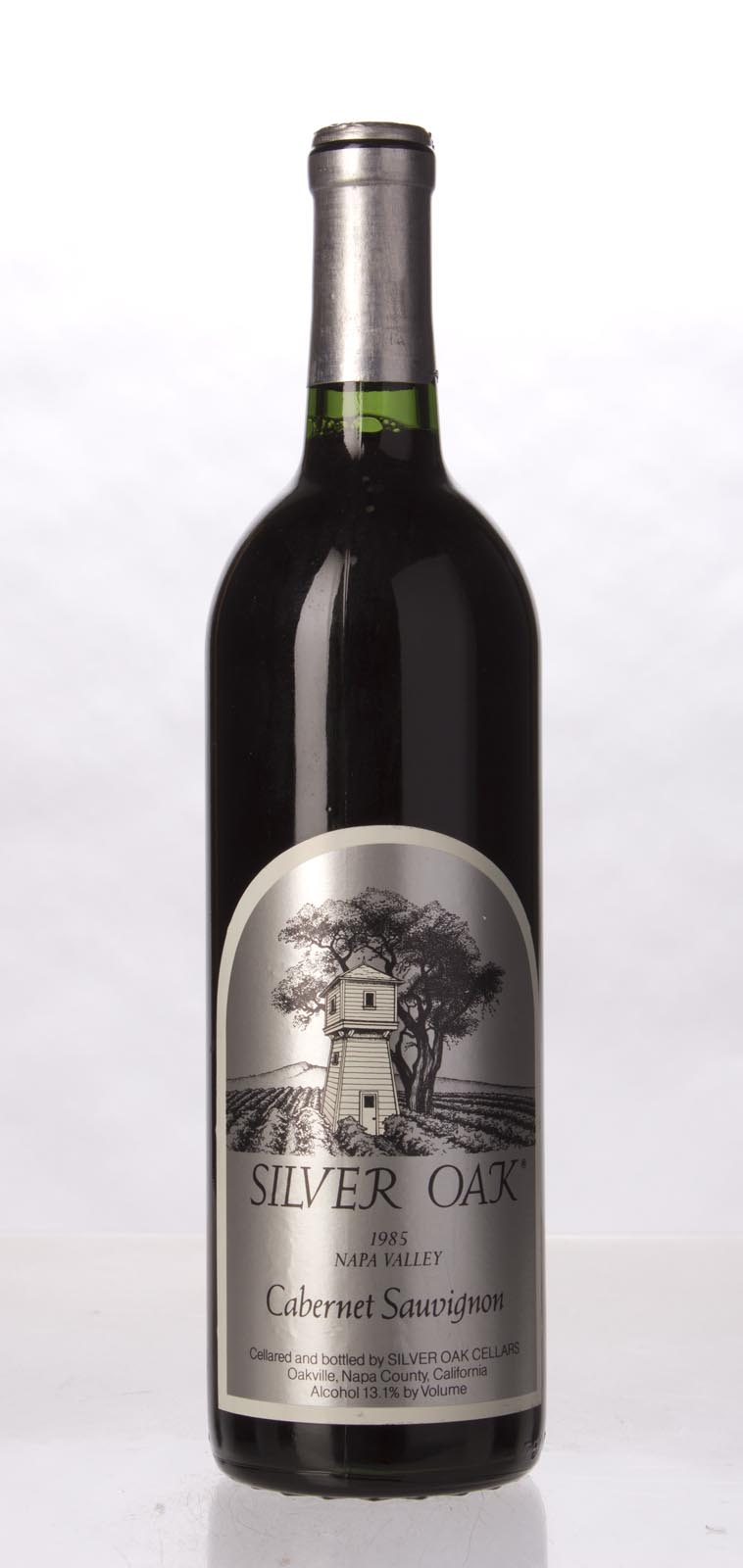 Silver Oak Cabernet Sauvignon Napa Valley 1985, 750mL (WA94) from The BPW - Merchants of rare and fine wines.