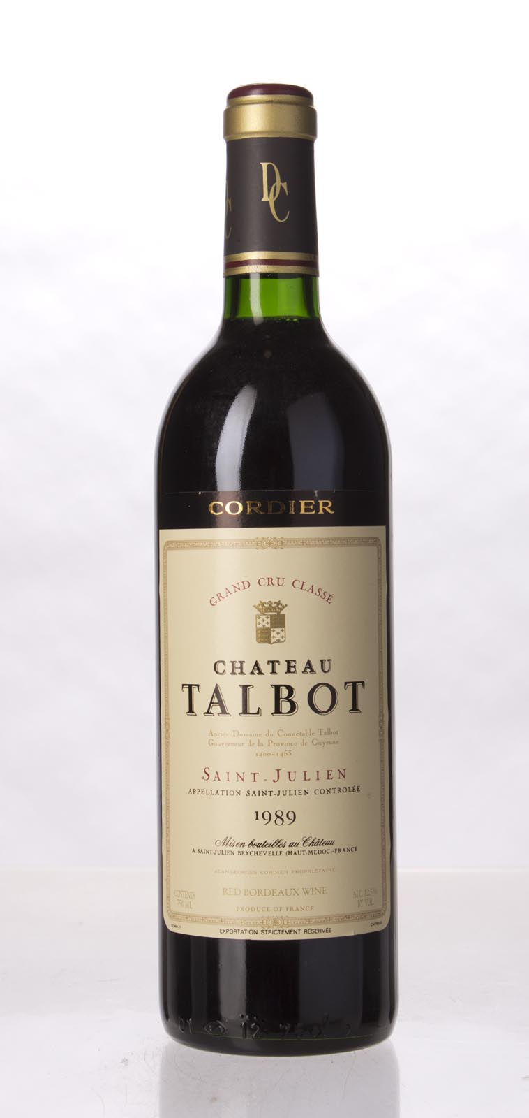 Talbot 1989, 750mL (WA88) from The BPW - Merchants of rare and fine wines.