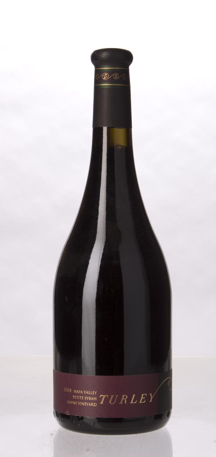 Turley Wine Cellars Petite Sirah Hayne Vineyard 2004, 750mL (WA96-98) from The BPW - Merchants of rare and fine wines.
