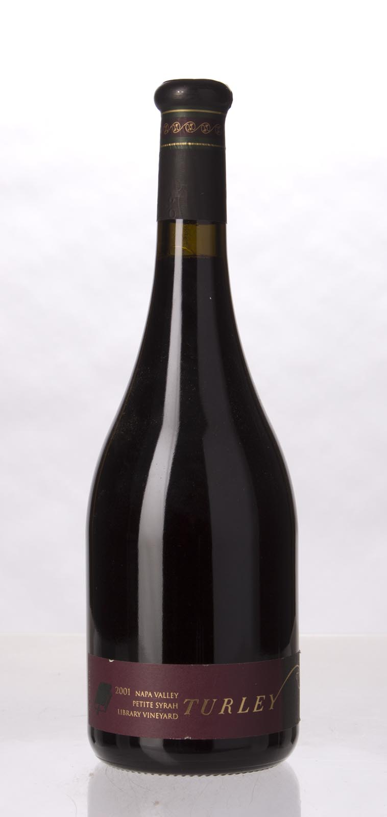 Turley Wine Cellars Petite Sirah Library Vineyard 2001, 750mL (WA88) from The BPW - Merchants of rare and fine wines.