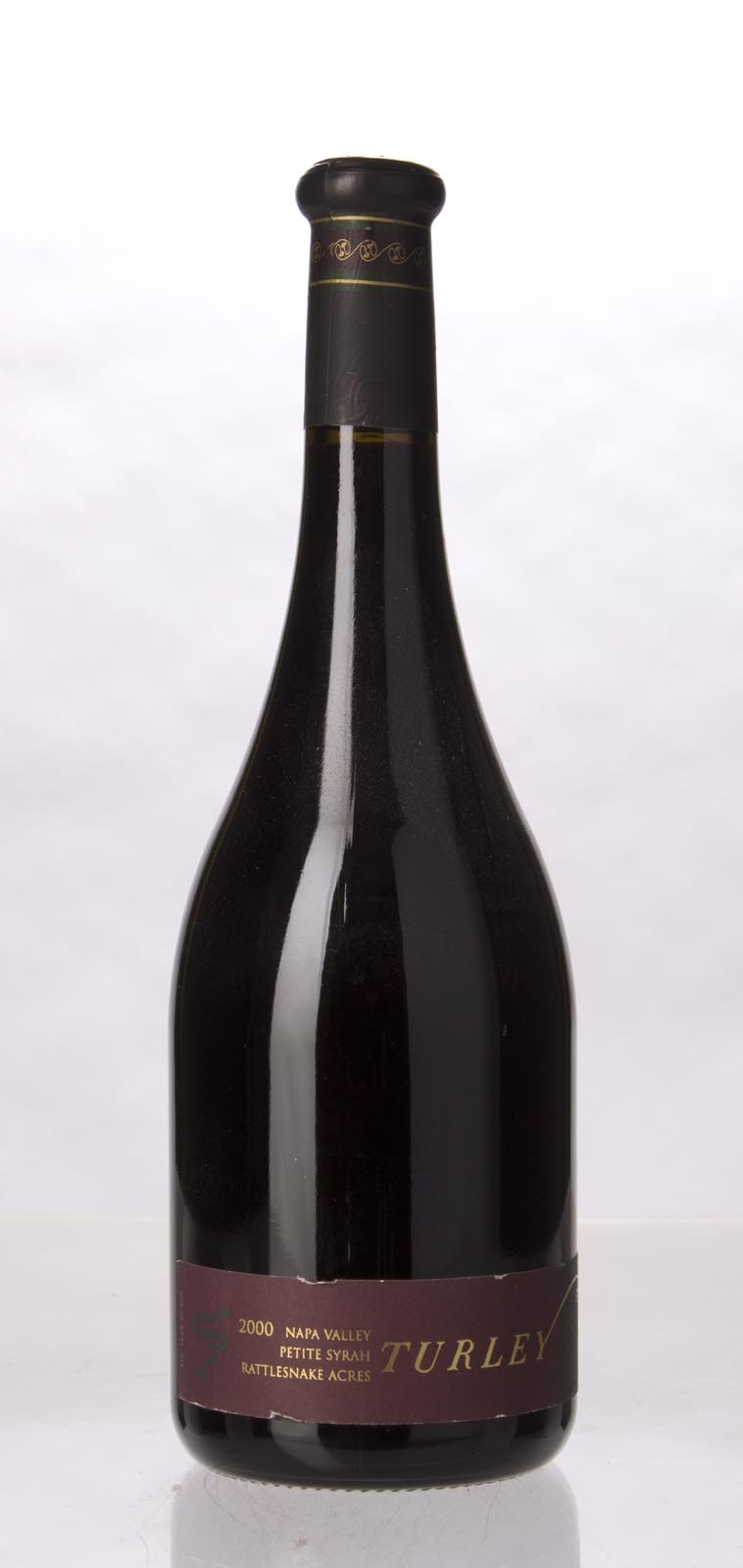 Turley Wine Cellars Petite Sirah Rattlesnake Ridge 2000, 750mL (WA95) from The BPW - Merchants of rare and fine wines.