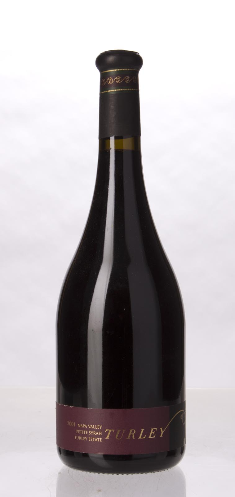 Turley Wine Cellars Petite Sirah Turley Estate 2001, 750mL (WA94) from The BPW - Merchants of rare and fine wines.