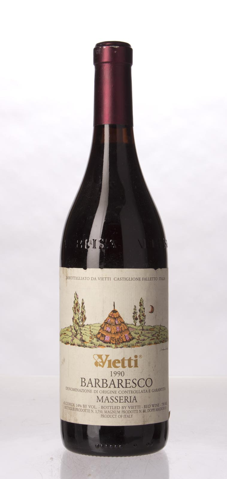 Vietti Barbaresco Masseria 1990, 750mL () from The BPW - Merchants of rare and fine wines.