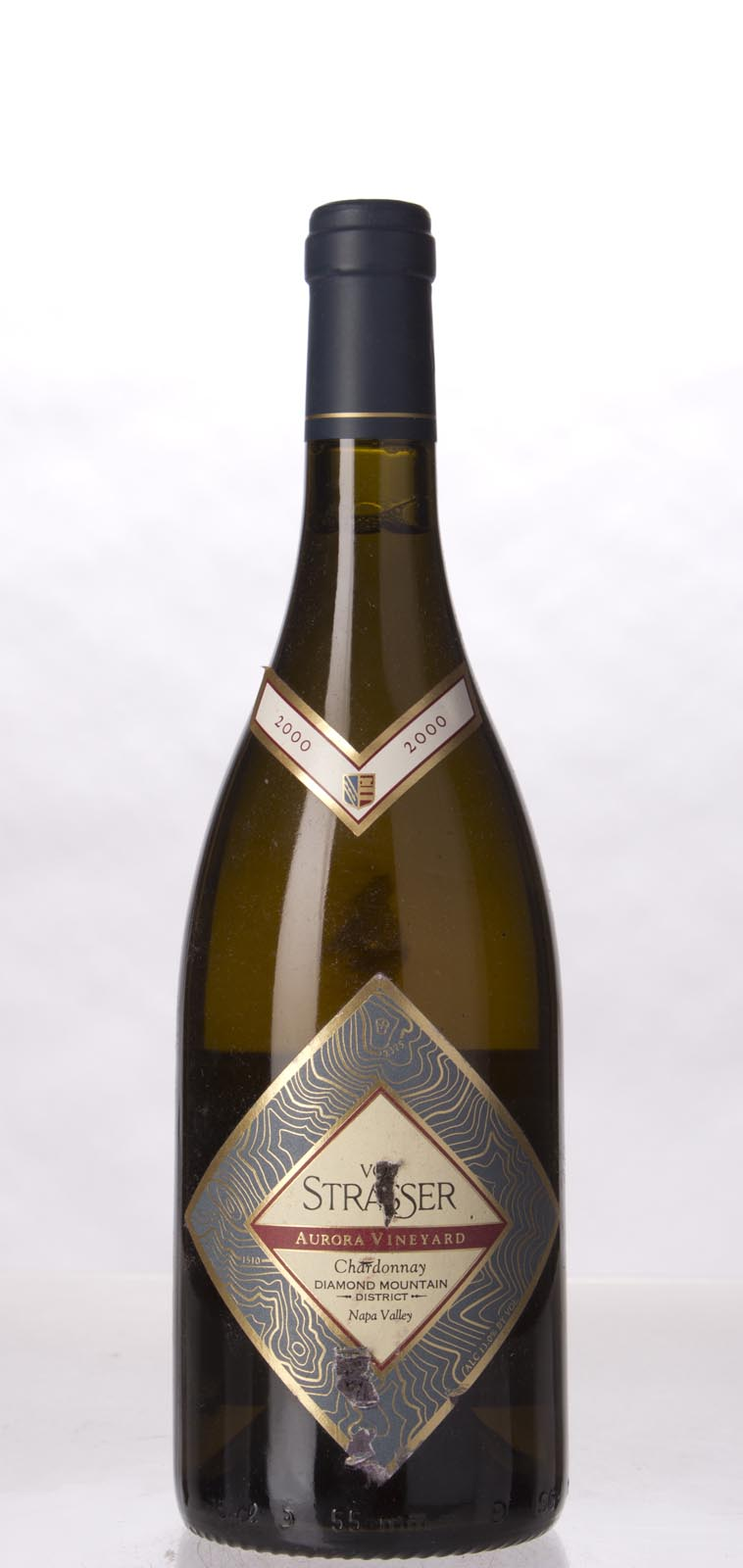 Von Strasser Chardonnay Aurora Vineyard 2000, 750mL () from The BPW - Merchants of rare and fine wines.