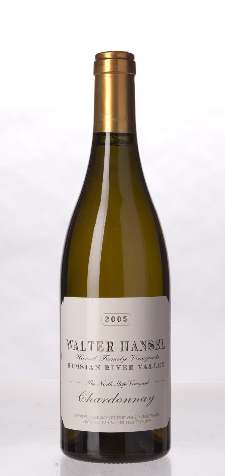 Walter Hansel Winery Chardonnay The North Slope 2005, 750mL (WA93) from The BPW - Merchants of rare and fine wines.