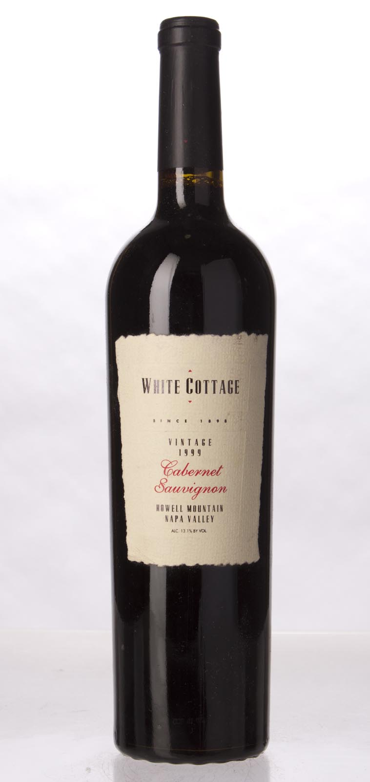 White Cottage Cabernet Sauvignon Howell Mountain 1999, 750mL () from The BPW - Merchants of rare and fine wines.